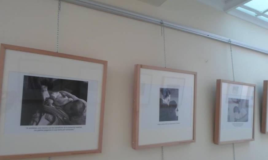 """Exposición fotográfica """"Salud y Crianza"""" realizada por las madres del Grupo de Apoyo a la Lactancia Materna de Herencia"""