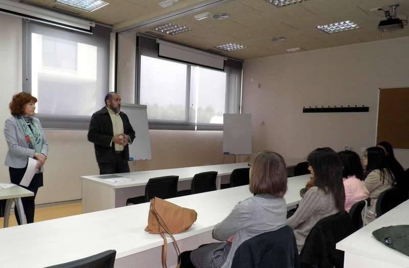 herencia clausura cursos formacion 2 - Entregados los diplomas de los cursos de atención sociosanitaria y alemán