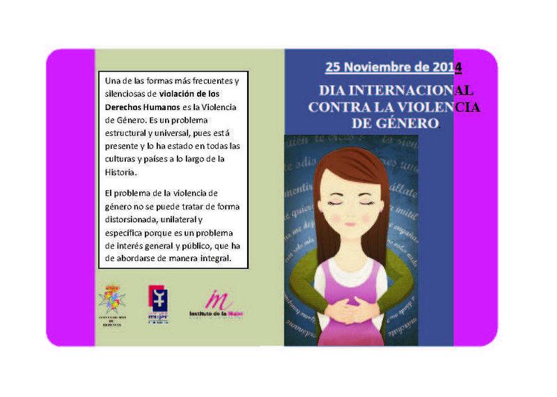 herencia folleto mujer 1 - El Ayuntamiento de Herencia promueve varios actos de sensibilización contra la Violencia de Género
