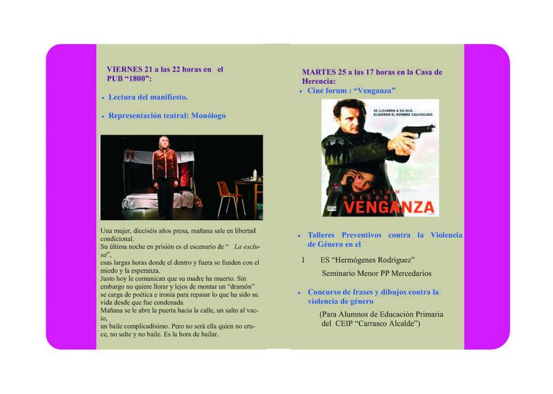 herencia folleto mujer 2 - El Ayuntamiento de Herencia promueve varios actos de sensibilización contra la Violencia de Género