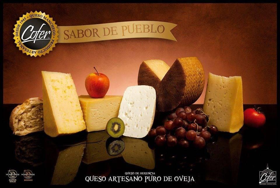 Cofer repite un año más en los Óscar de los quesos 1