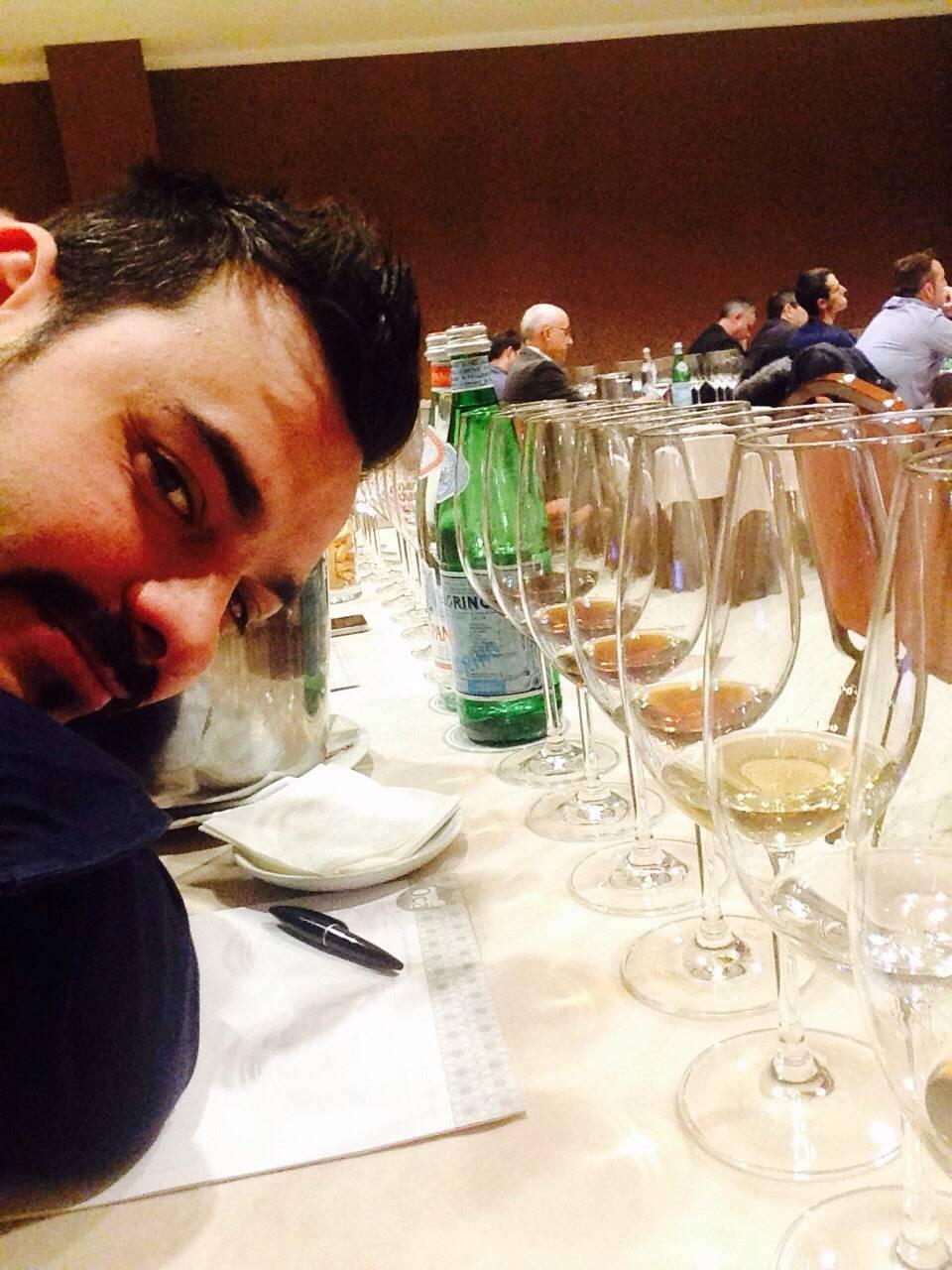Concurso Mejor Sumiller de Espa%C3%B1a 2014 3 - Víctor Martín, entre los mejores sumilleres de España 2014
