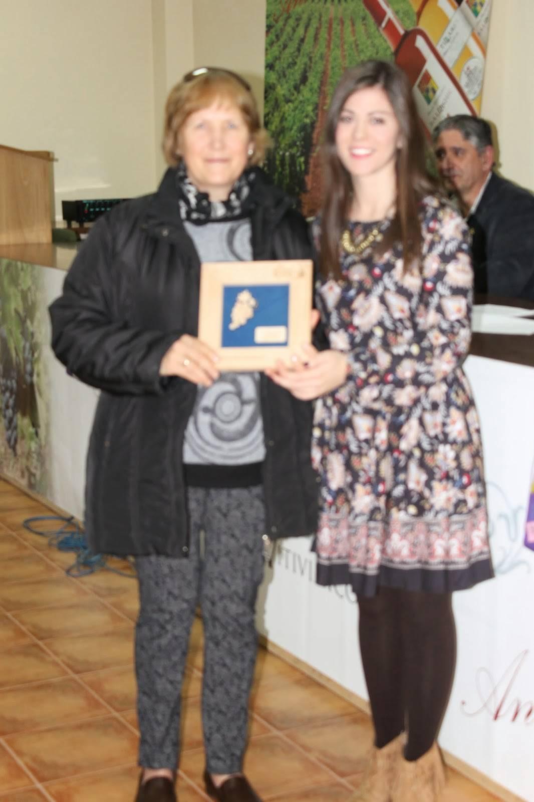 Mercedes López-Serrano Ganadora en la categoría de Arropes y Vino Blanco