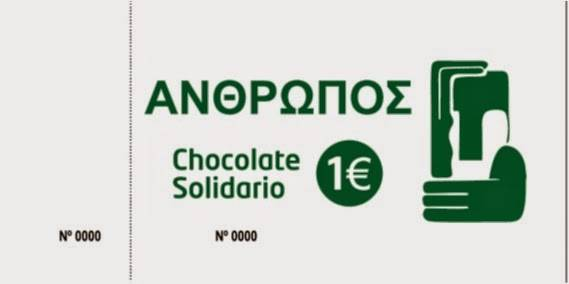 Ticket chocolate solidario Herencia
