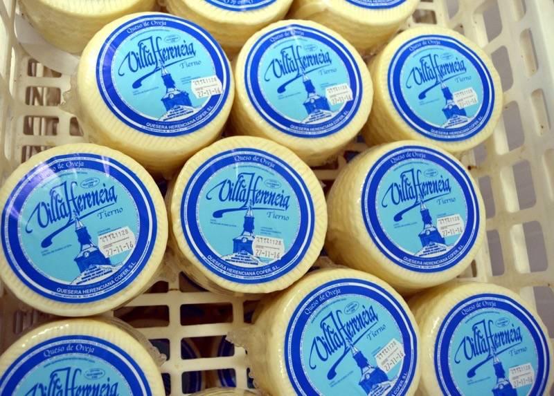 herencia cofer quesos - El alcalde de herencia felicita a Cofer por su Oro en el World Cheese Awards