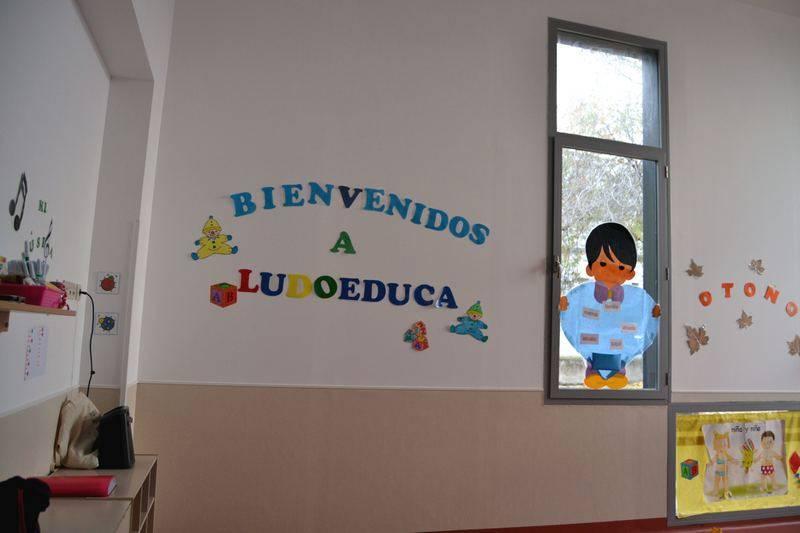 herencia ludoteca 3 - Ya son unos 30 menores los que acuden a la nueva Ludoteca Municipal de Herencia