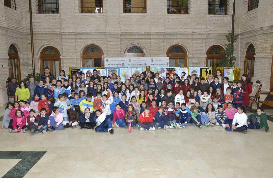 herencia pleno infantil constitucion 2 1068x697 - Se dará a conocer el libro de las I Jornadas Históricas 775 Aniversario de la Carta Puebla en el acto del Día de la Constitución