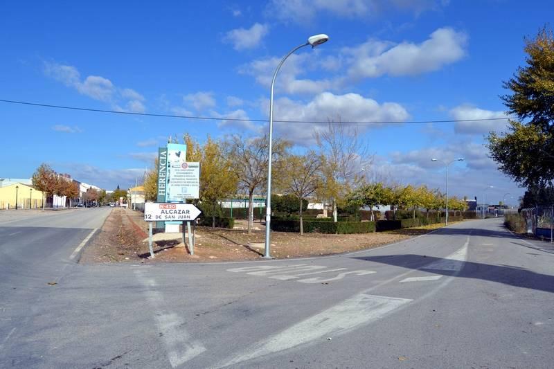 herencia ronda 3 inicio ctra villarta a la de alcazar - Las futuras travesía y ronda cambiarán la fisonomía urbana de Herencia a partir del próximo año