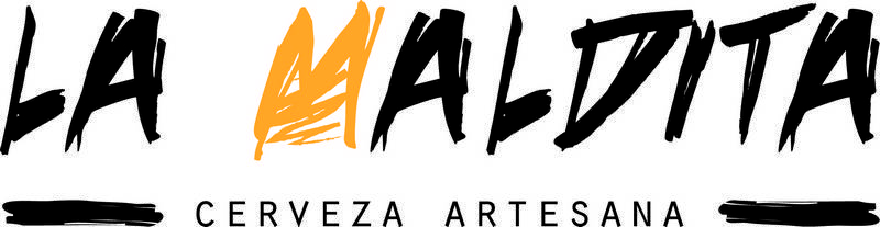 logotipo de La Maldita cerveza artesana de Herencia