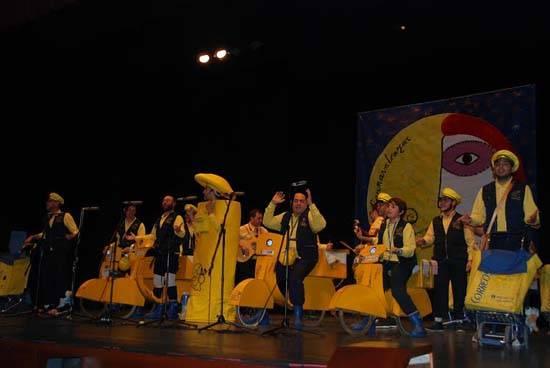 pelendengues Herencia - Los Pelendengues ganan el I Concurso Nacional de Chirigotas de Carnavalcázar 2014
