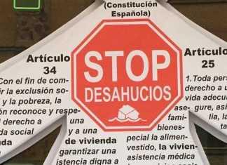 stop desahucios Herencia 28 diciembre