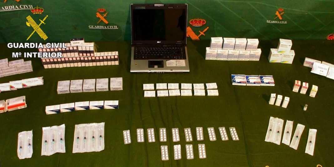 Dos detenidos en Herencia como presuntos organizadores de un punto de venta de anabolizantes y medicamentos 1