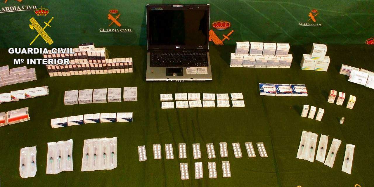 Los detenidos utilizaban portales de Internet para publicar las sustancias anabolizantes y medicamentos a nivel nacional