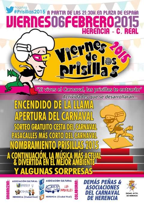 Viernes de los Prisillas Carnaval de Herencia 2015
