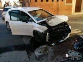 accidente coche herencia ciudad real 3 265x199 - Accidente de coche en Plaza Cervantes