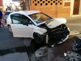 accidente coche herencia ciudad real 5 265x199 - Accidente de coche en Plaza Cervantes