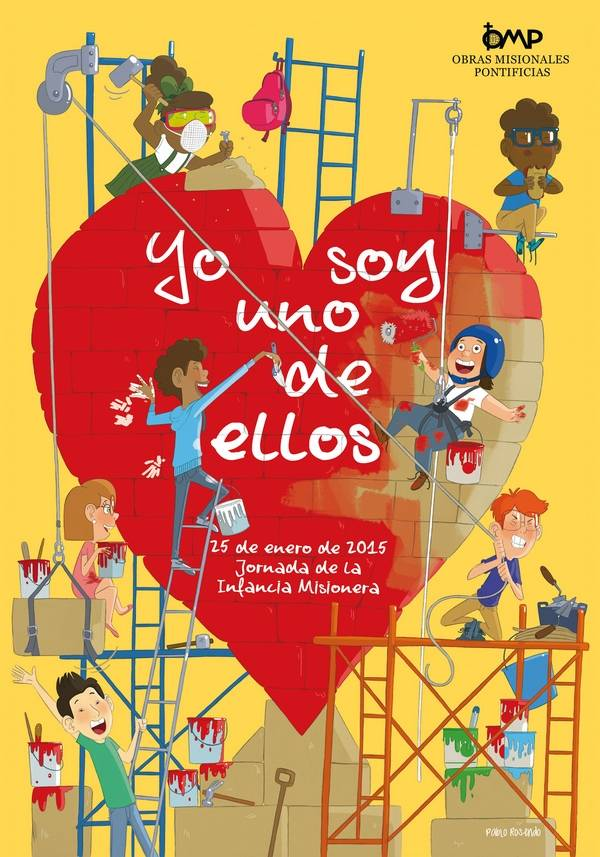 cartel infancia misonera - La parroquia celebra el Día de la Infancia Misionera