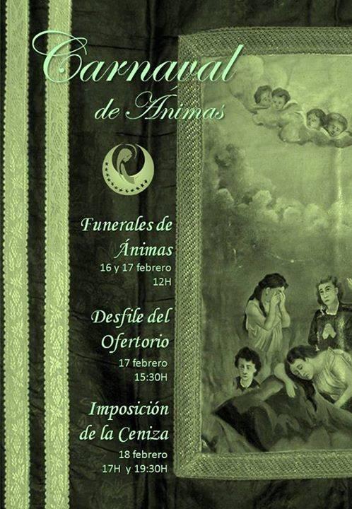 Actos religiosos del Carnaval de Ánimas de Herencia 1