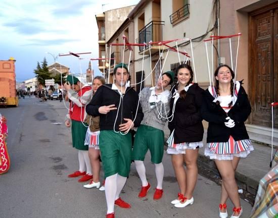 4 herencia 2 pinochos haruspices tomelloso buena - Ganadores del desfile del Ofertorio del Carnaval de Herencia