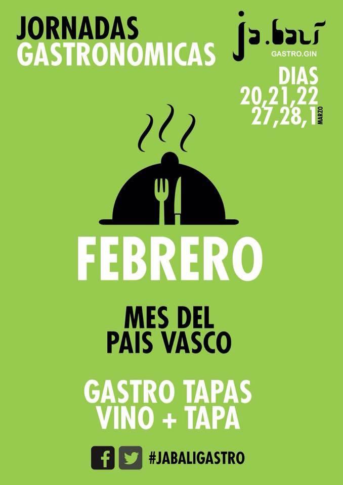 El País Vasco protagonista de las Segundas Jornadas Gastronómicas del restaurante Ja.balí 1