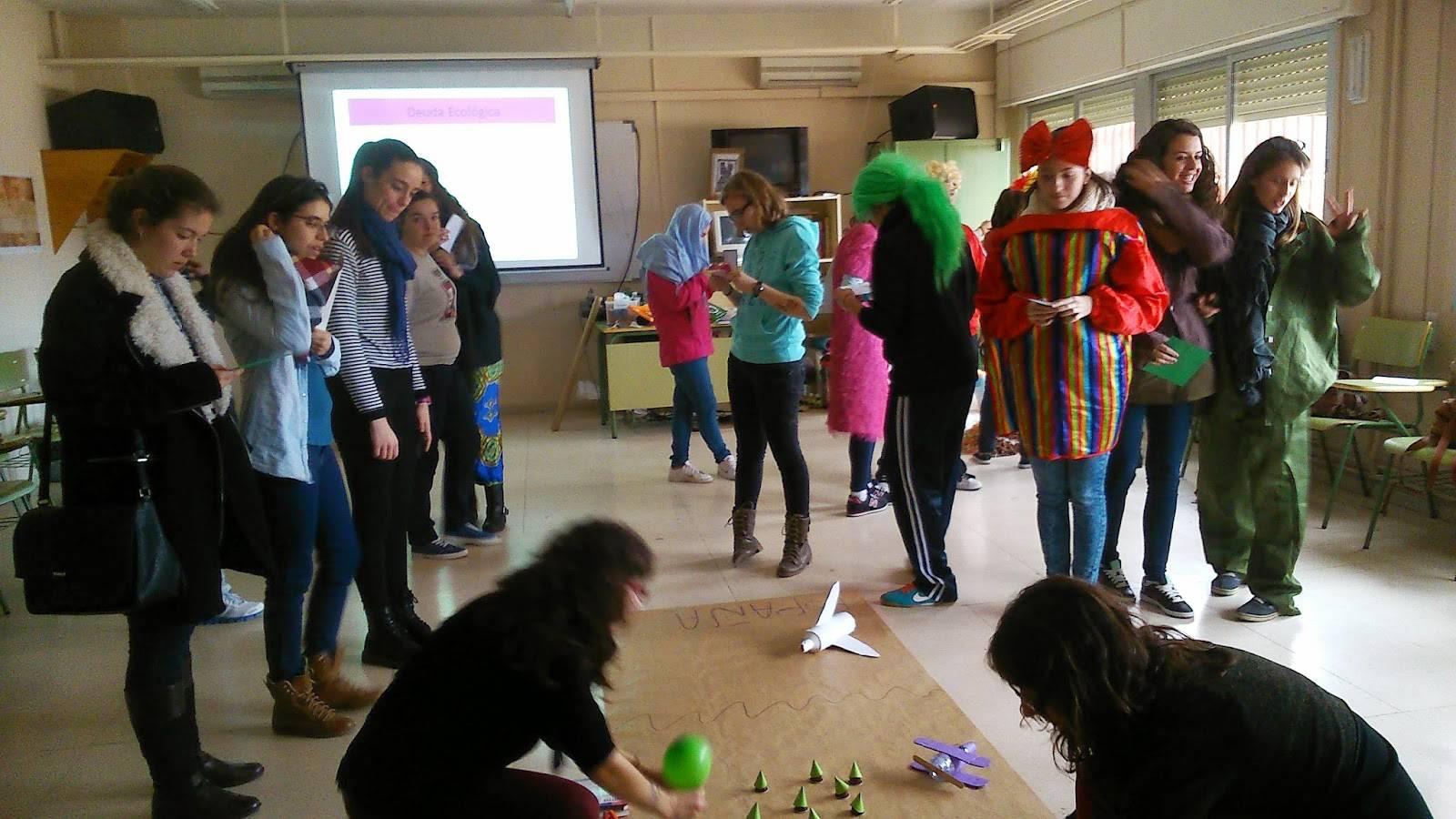 DSC 4416 - Anthropos celebra una jornada de educación medioambiental en el IES Hermógenes Rodríguez