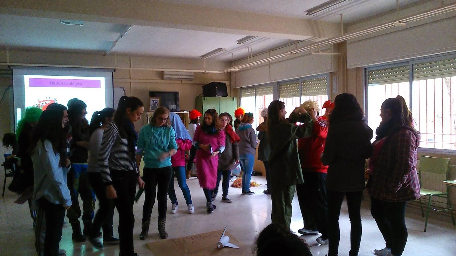 DSC 4418 - Anthropos celebra una jornada de educación medioambiental en el IES Hermógenes Rodríguez