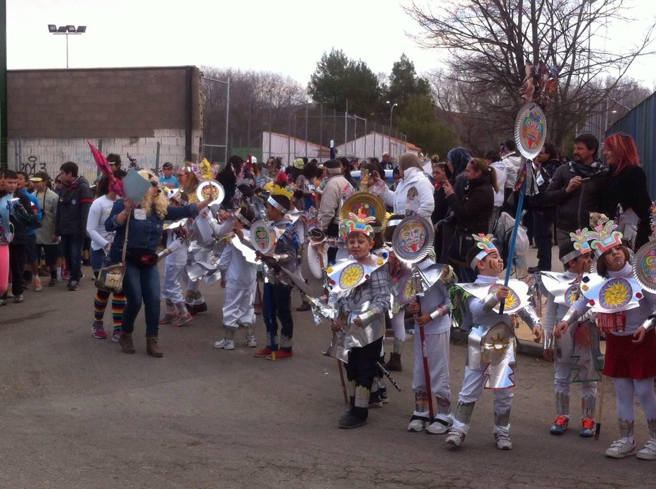 Desfile escolar de carnaval 2015 del CEIP Carrasco Alcalde1