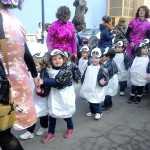 Más de 700 niños participaron en el ecodesfile de carnaval del Carrasco Alcalde 11