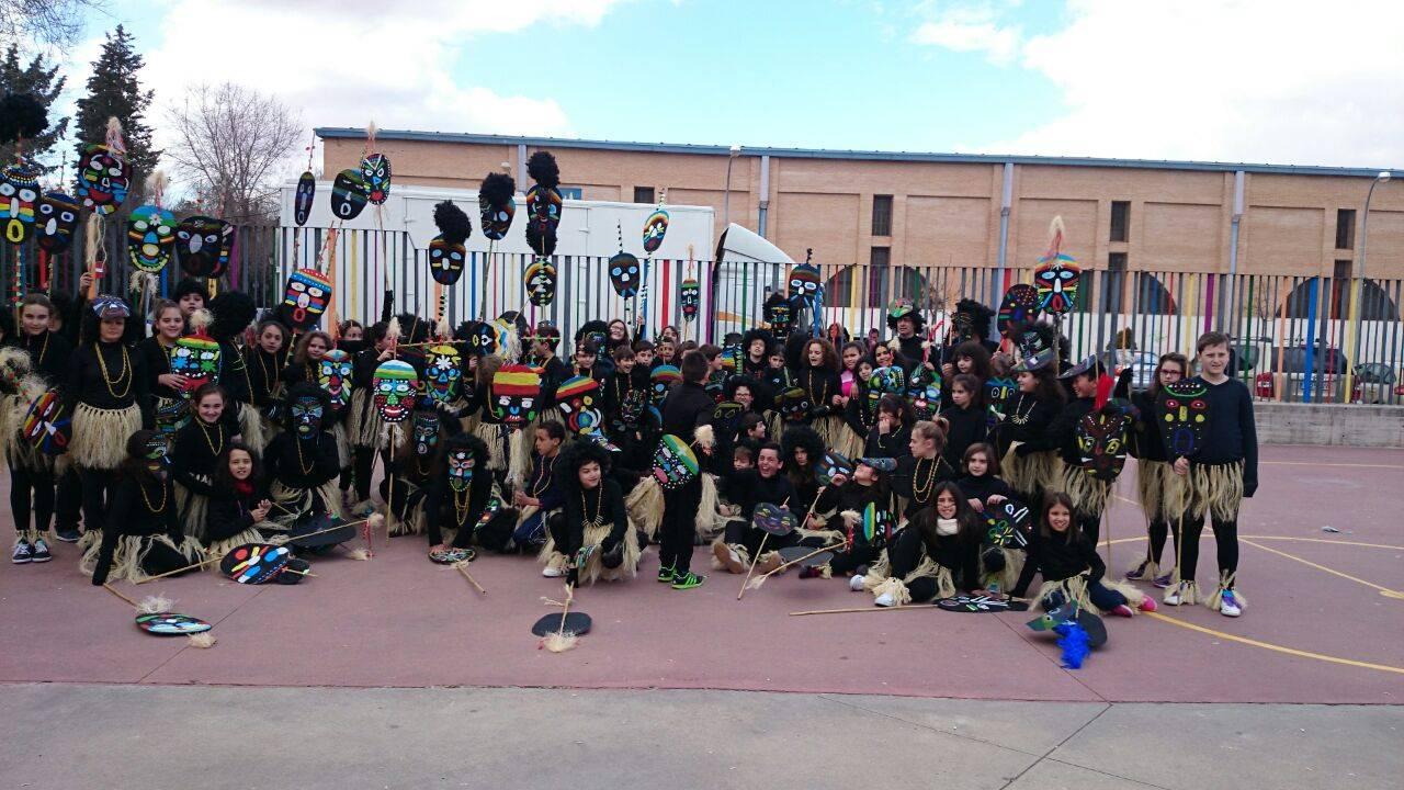 Desfile escolar de carnaval 2015 del CEIP Carrasco Alcalde8