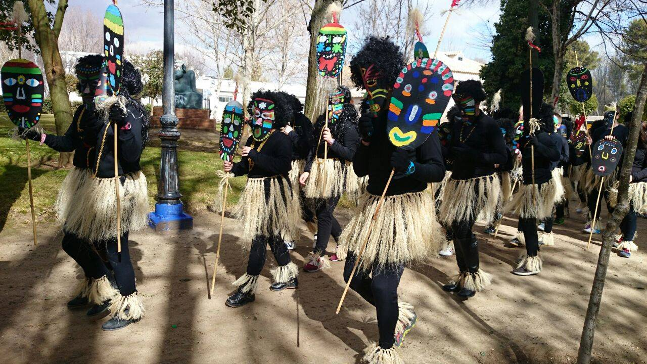Desfile escolar de carnaval 2015 del CEIP Carrasco Alcalde9