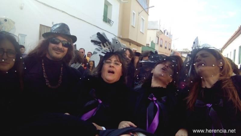 Entierro de la Sardina de Herencia 2015 a - El Entierro de la Sardina pone fin al Carnaval de Herencia (vídeo)