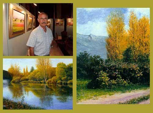 """Exposicion pintor Manuel Fernandez Caballero 637773264 - """"Jugando con la luz"""". Óleos de M.F. Caballero"""