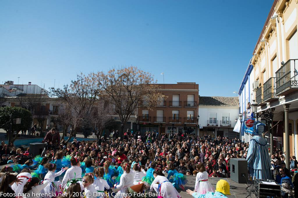 Festival de coreografías Domingo de las Deseosas del Caranval de Herencia 2015 - Fotogalería Carnaval de Herencia 2015. Festival de coreografías del Domingo de las Deseosas