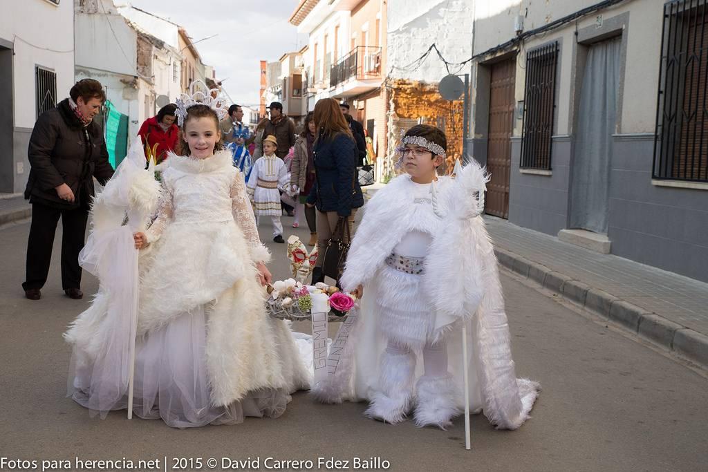 Jineta del Carnaval de Herencia 2015 - Fotogalería del Carnaval de Herencia 2015. Pasacalles viernes