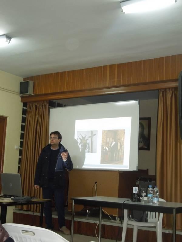 Jose Manuel Velasco - José Manuel Velasco desgrana la historia de las ánimas en Herencia y Villafranca