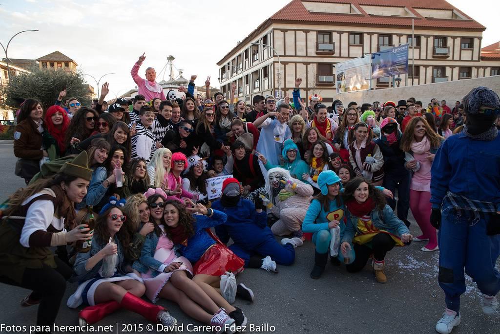 Fotogalería del Carnaval de Herencia 2015. Pasacalles viernes 1