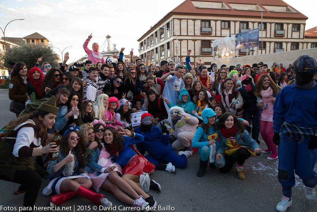 Pasacalles del Carnaval de Herencia 2015 - Fotogalería del Carnaval de Herencia 2015. Pasacalles viernes