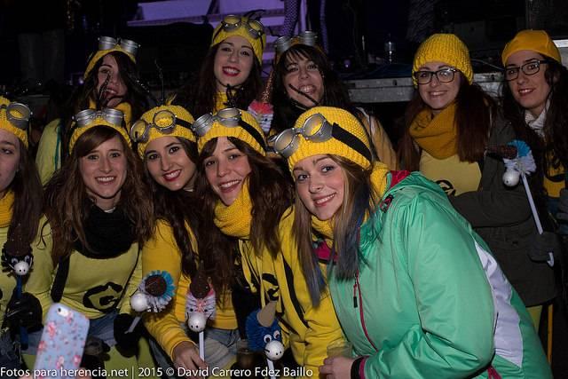 Sábado de los Ansiosos Carnaval de Herencia 2015