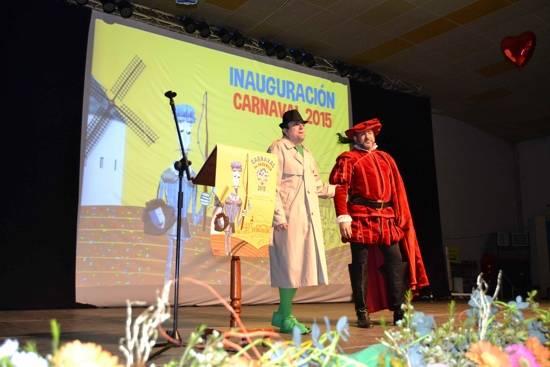 alcalde g - Celebrada la gala del Carnaval de Herencia 2015
