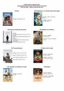 cartelera de cinemancha del 20 al 26 de febrero