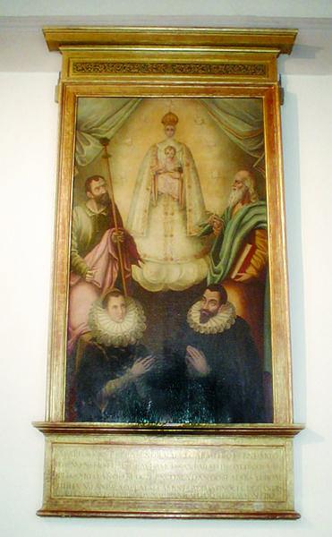Cuadro-exvoto de Rodríguez Pacheco