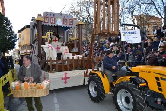 herencia la inquisicion los traviesos local g - El calor del desfile del Ofertorio pudo con el frío del invierno