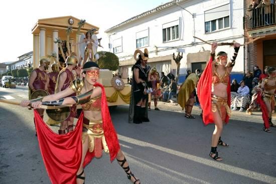 herencia pe%C3%B1a local Axonsou g - El calor del desfile del Ofertorio pudo con el frío del invierno