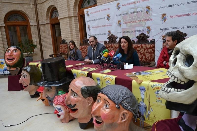 herencia carnaval presentacion concejala cultura 2 - Presentado el programa de actos del Carnaval que comienza esta semana