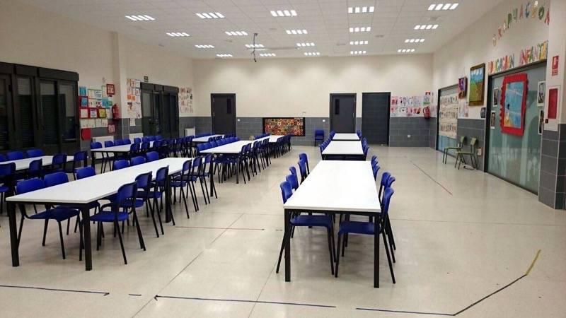 herencia comedor escolar 1 - Jornada de puertas abiertas del CEIP Carrasco Alcalde