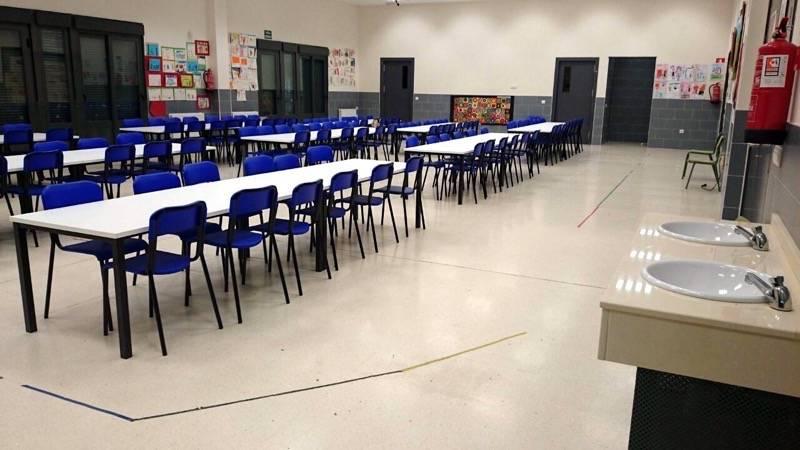 herencia comedor escolar 2 - El comedor escolar de Herencia estará abierto por cuarto año consecutivo