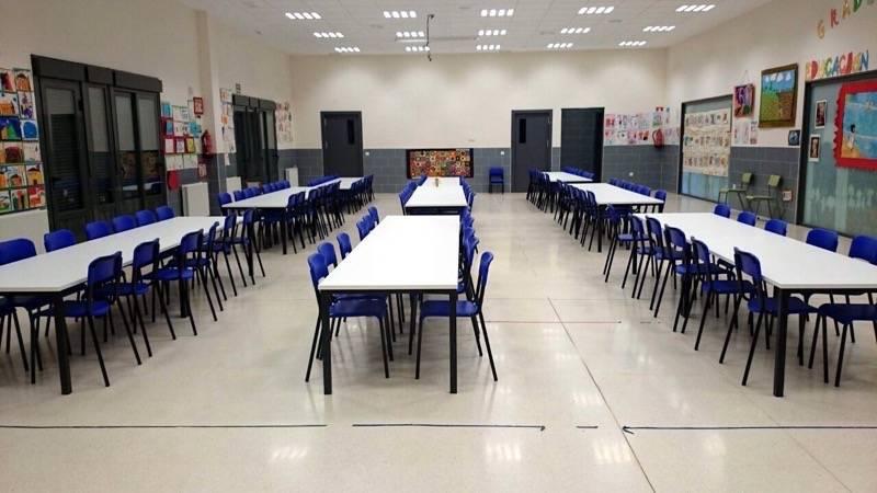 herencia comedor escolar vista general - Jornada de puertas abiertas del CEIP Carrasco Alcalde