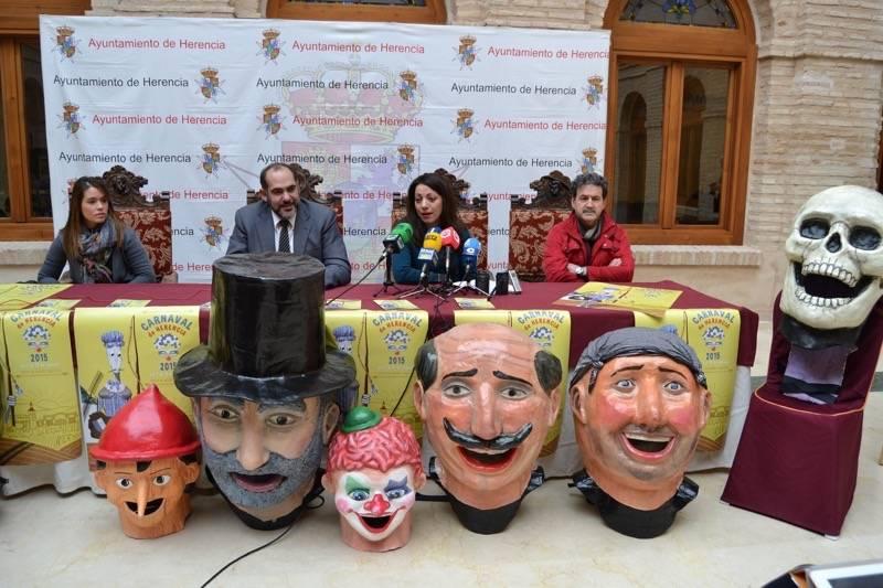 herencia presentacion 1 - Presentado el programa de actos del Carnaval que comienza esta semana