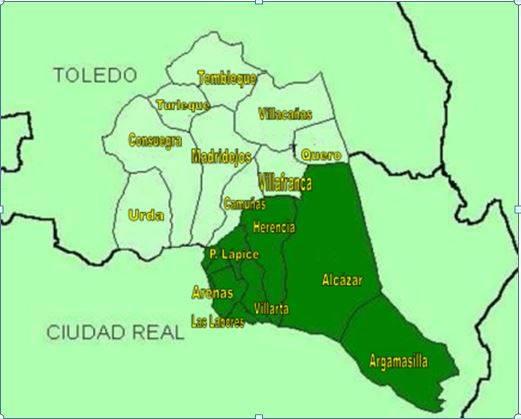 orden de san juan - Huellas del Quijote en el Campo de San Juan