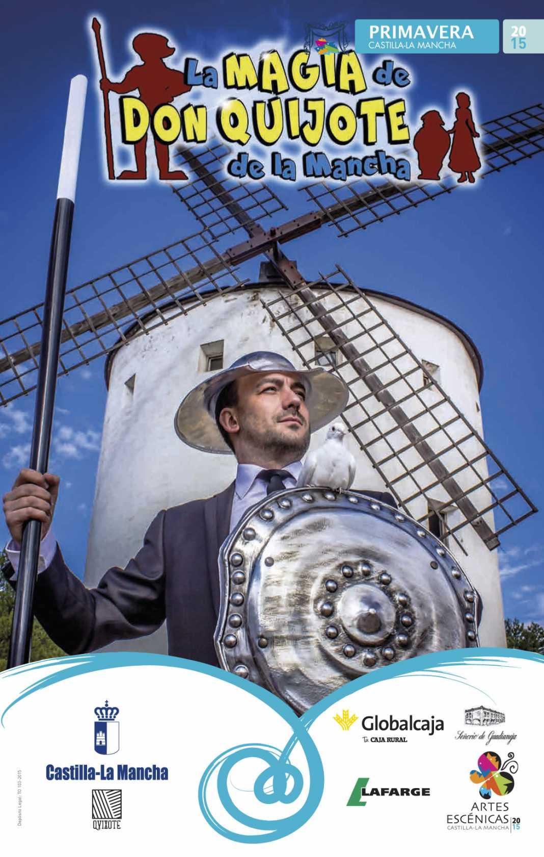6901 cartel PRODUCCONES KN La MAGIA DE Don Quijote  1068x1680 - A escena la magia de Don Quijote de La Mancha